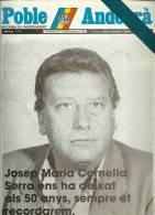 ANDORRA   - POBLE ANDORRA DIVENDRES 21.12.84 NUMERO 1.178 - Documentos Históricos