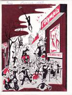 Programme De Music Hall De L' OLYMPIA De Janvier 1955 - Illustré 32 Pages Dont Publicités - 3 Scans - Programmes