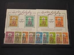 AFGHANISTAN - 1962 HAMMARSKJOLD  9 Valori Soprast.+ 2 BF Soprast.- NUOVI(++) - TEMATICHE - Afghanistan