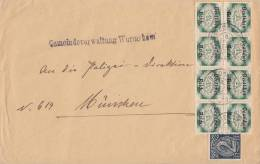 DR Dienst Brief Mif Minr.8x D47,D70 Geprüft 6.12.22 - Dienstpost