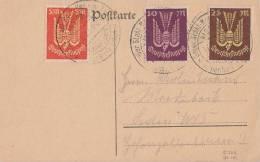 DR Karte Mif Minr.218,235,236 SST Bad Steben 17.6.23 - Allemagne