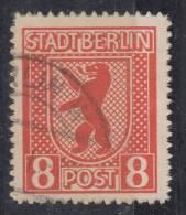 All. Besetzung Berlin Minr.3B Gestempelt - Sowjetische Zone (SBZ)