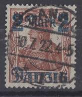 Danzig Minr.27I Gestempelt - Dantzig