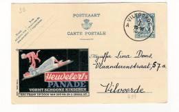 Publibel Obl. N° 499 Heudebert Panade)  Obl: Vilvoorde 06/01/1943 - Publibels