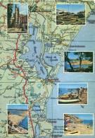 Les Plages De L'Aude - Carte Geografiche