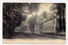 K22 - NOYERS Près DANGU  - Le Château Et La Grille (1917) - Altri Comuni