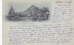 Le Puy (43) - Pic D´Aiguille Et La Ville - Le Puy En Velay