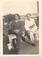 SOLDADOS ITALIANOS VESTIDOS DE CIVIL LIBIA AÑO 1941 SEGUNDA GUERRA MUNDIAL - Libië