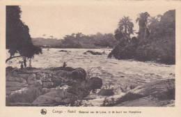Belgian Congo Kasai Waterval Van De Lulua In De Boort Van Hemptinne - Belgisch-Congo - Varia