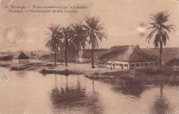 Belgian Congo Nyonga Poste Commercial Sur Le Lualaba 1931 - Belgian Congo - Other