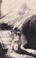 Belgian Congo Village Indigene Real Photo - Belgian Congo - Other