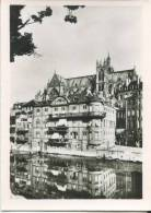 """France, METZ, """"The Rocks"""" On The Moselle Bank And The Cathedral, Mini Photo[12637] - Other"""