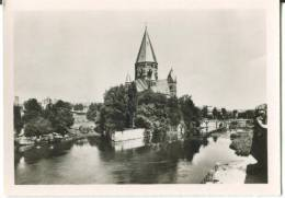 France, METZ, View On The Love Garden And The Protestant Temple Mini Photo[12638] - Other