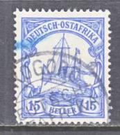 German East Africa 34   Wmk.  (o)  MOROGORA  DOA  Cd. - Colony: German East Africa