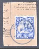 German East Africa 34   Wmk.  (o)  PANGANI Cd. - Colony: German East Africa
