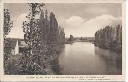 LEUGNY-SUR-CREUSE: Par La Haye-Descartes, La Creuse En Aval  +marcophilie Au Dos - Other Municipalities