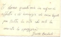 GUIDO BARBATI Y OTROS SOLDADOS NAPOLES AÑO 1940 PRONTO A IR A COMBATIR A LIBIA SEGUNDA GUERRA MUNDIAL - Libië