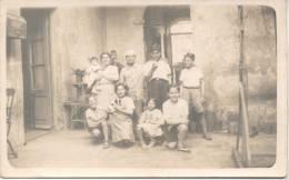 CONVENTILLO DEL BARRIO DE LA BOCA BUENOS AIRES AÑO 1900 TOMANDO MATE PERRITO PAJARERA - Argentina