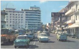 LA PLAZA 5 DE MAYO PANAMA CARTE CIRCULEE A MONTEVIDEO URUGUAY AÑO 1978 RARE CIRCULATION - Panama