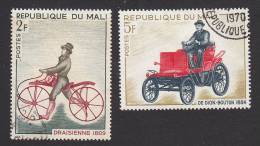 Mali, Scott #109-110, Used, Transportation, Issued 1968