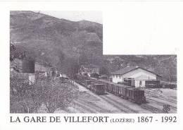 CF 14 Gare De Villefort 1867-1992 - Villefort