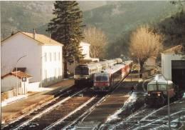 CF 16 Gare De Villefort En 1999 - Villefort