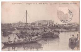Vietnam - Haiphong - Jonques Sur Le Canal Bonal - Boats - Collection Dufresne - 1905 - Vietnam
