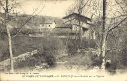 01 - PONCIN -  Ain - MOULIN SUR LE VEYRON - France