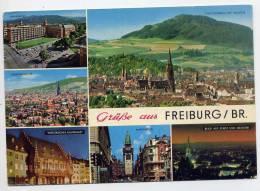 Allemagne--FREIBURG / BR---Gruss Aus Freiburg / Br---vues Diverses ,cpm N°727/25 éd Kruger - Freiburg I. Br.