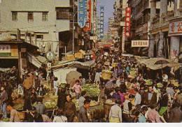AN OPEN AIR MARKET IN KOWLOON  HONG KONG  OHL - China (Hongkong)