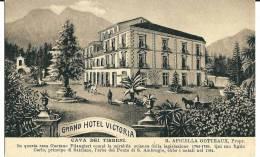 CAVA DEI TIRRENI (SA) - GRAND HOTEL VICTORIA - F/P - N/V - Caserta