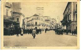 FOGGIA - CORSO VITTORIO EMANUELE -  F/P - V:1943 - ANIMATA - AUTO - Foggia