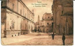 LECCE - VIA GIUSEPPE LIBERTINI E OSPEDALE CIVILE  - F/P - V - Lecce