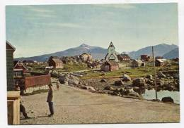 GREENLAND - AK138336 KGH 2 - The Church At Nanortalik´s Old Harbour - Greenland