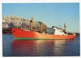 GREENLAND - AK138381 KGH 144 M/S Mayumbe - Greenland