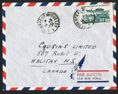 195   Lettre   Pour Le Canada  Yv 340 Seul - St.Pierre & Miquelon