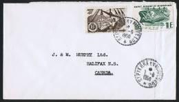 1950 Lettre  Pour Le Canada  Yv 331,  337 - St.Pierre & Miquelon