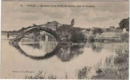 Dôle - Ruines D'un Pont Romain Sur Le Doubs - Dole