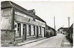 28 - Eure Et Loir / LE BOULLAY-MIVOYE -- La Rue Principale (Epicerie - Mercerie - Café -  SALMON, Cachet Mme Vve BEUNON) - Sonstige Gemeinden