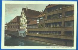 Deutschland; Nürnberg; Blick Nach Der Fleischbrücke - Nürnberg