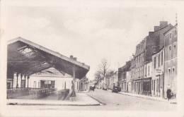 """¤¤  -  1   -   MACHECOUL   -  La Rue Du Marché   -  Les Halles  -  Teinturie """" J. Bonnin """"    -  ¤¤ - Machecoul"""
