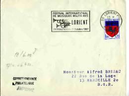 FRANCE -  LORIENT 1967 - FESTIVAL MUSIQUES MILITAIRE - TROMPETTES - Musica