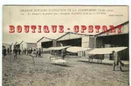 PRIX  FIXE  < MONOPLAN BLERIOT  - Aérodrome D'Aviation En Champagne - Aéroplane - Cliché N.D. N°184 - Dos Scané - ....-1914: Vorläufer