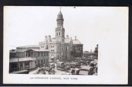 RB 901 - Early Postcard - Emigrant Landing - New York USA - New York City