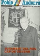 ANDORRA   - POBLE ANDORRA DIVENDRES 25.05.84 NUMERO 1.148 - Documentos Históricos