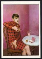 DF / ARTS / PEINTURE & TABLEAUX / DE OTTO DIX LA JOURNALISTE SYLVIA VON HARDEN / CARTE DOCUMENTAIRE - Peintures & Tableaux