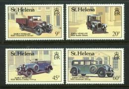 ST-HELENA - 1989 - 1ers Véhicules Sur L'Ile - 4v Neufs - Mnh - Saint Helena Island