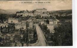 CPA 34 LA SALVETAT VUE GENERALE ET LE PONT 1926 - La Salvetat