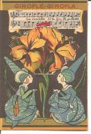 IMAGE A SYSTEME  .. ( TIRETTE )  .. GIROFLE GIROFLA .. PUB FULGOR .. SYSTEME A RESTAURER - Flowers