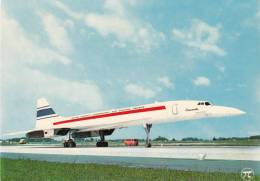 AVION SUPER SONIQUE CONCORDE BRITISH AIRCRAFT CORPORATION - 1946-....: Moderne